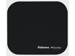 Muismat Fellowes microban zwart