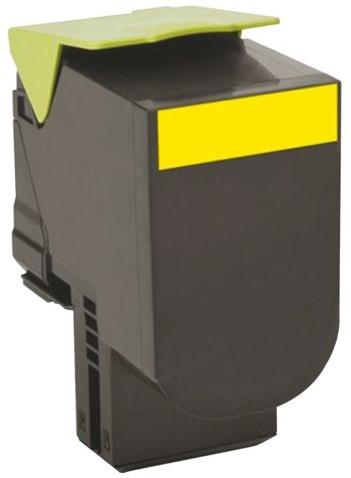 Tonercartridge Lexmark 70C20Y0 prebate geel-2