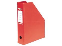 Tijdschriftcassette Elba A4 rood