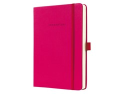 Notitieboek Conceptum CO573 135x203mm roze lijn