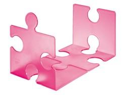 Boekensteun Han 9212 Puzzle Signal roze