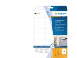Etiket Herma 9532 63.5x33.9mm polyester wit 240stuks