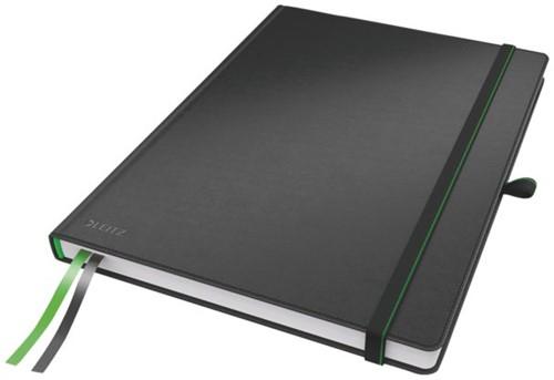 """Notitieboek Leitz Complete hardcover iPad 10"""" gelinieerd zw"""