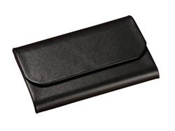 Visitekaartenhouder Sigel VZ270 Torino magneetslot zwart