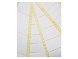 Etiket Avery Zweckform T3014 102x36mm 1-baans wit 4000stuks