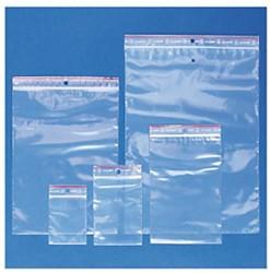 Verpakkingszak grip hersluitbaar 50my 60x80mm 100 stuks