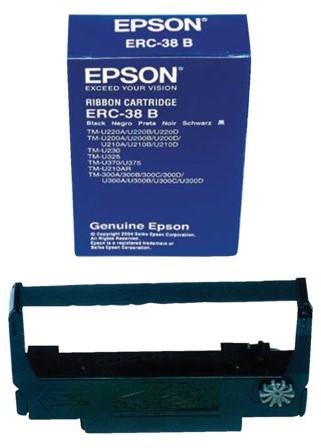 Lint Epson S015244 voor ERC38 nylon zwart-2