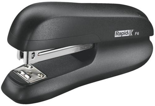Nietmachine Rapid F6 Halfstrip 20vel 24/6 zwart