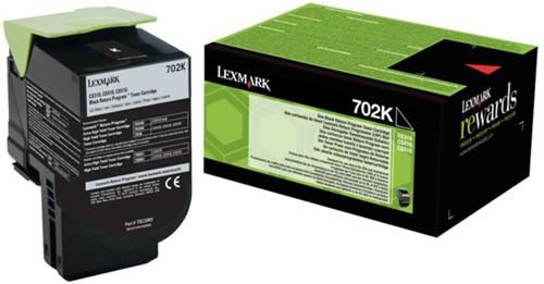 Tonercartridge Lexmark 70C20K0 prebate zwart