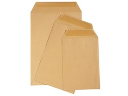 Envelop Quantore loonzak 95x145 70gr bruin 1000stuks