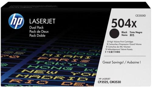 Tonercartridge HP CE250X 504X zwart HC