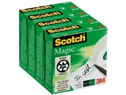 Onzichtbaar plakband Scotch Magic 810 19mmx33m