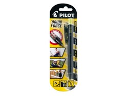 Balpen PILOT Down Force zwart 0,25mm