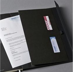 Notitieboek Conceptum CO152 187x270mm zwart lijn