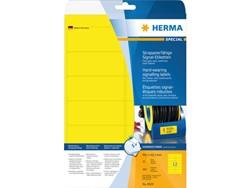 Etiket Herma 8029 99.1x42.3Mm folie geel 300stuks