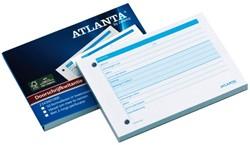 Kwitantieblok Atlanta A5436-010 A6 50x2vel
