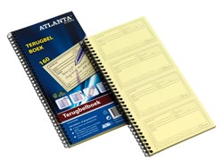 Terugbelboek Atlanta 74x128mm 400x2stuks