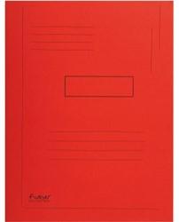 Dossiermap Exacompta forever 280gr 2kleppen rood