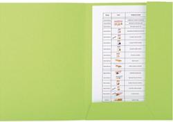 Dossiermap Exacompta forever 280gr 2kleppen groen