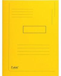 Dossiermap Exacompta forever 280gr 2kleppen geel
