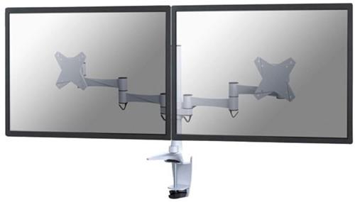 """Monitorarm Neomounts D1330D 2x10-27"""" wit"""