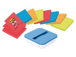 Memoblokdispenser 3M Post-it Z-Notes 76x76mm met 8 blokjes