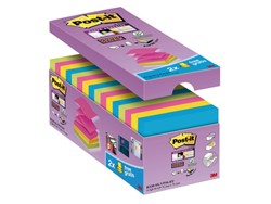 Memoblok 3M Post-it Z-Note S330-16 76x76mm Super Sticky 14+2