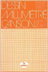 Millimeterblok Canson A3 lichtbruin