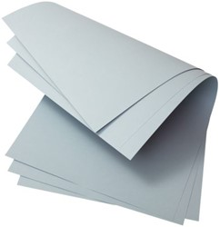 Archiefomslagpapier Loeff 3015 160G blauw/grijs