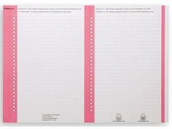 Ruiterstrook Elba Nr 8 lateraal roze