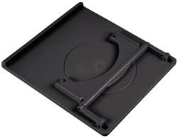 "Laptopstandaard Hama 15.4"" verstelbaar zwart"