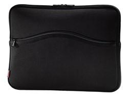 "Laptoptas Sleeve Hama Comfort 15.6"" zwart"