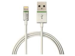 Oplaadkabel Leitz Complete Lightning-USB 100cm wit