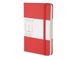 Notitieboek Moleskine lijn pocket 90x140mm rood