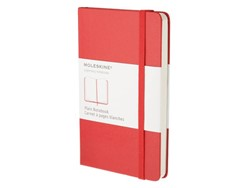 Notitieboek Moleskine blanco large 130x210mm rood