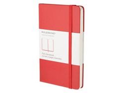 Notitieboek Moleskine blanco pocket 90x140mm rood