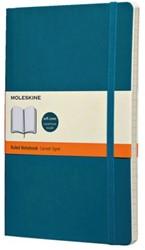 Notitieboek Moleskine large 130x210mm lijn onderwater blauw