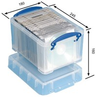 Opbergbox Really Useful 3 liter 245x180x160mm