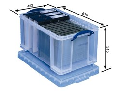 Opbergbox Really Useful 48 liter 610x400x315mm