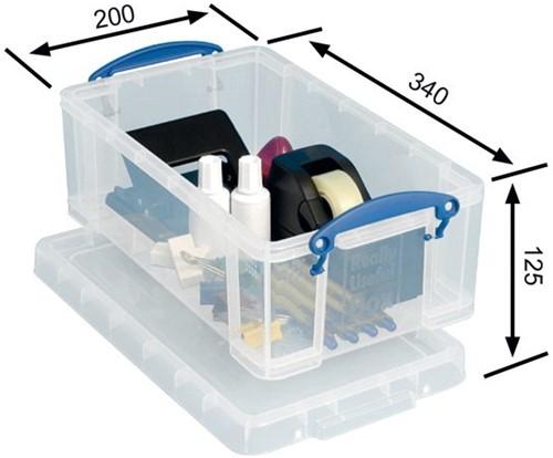 Opbergbox Really Useful 5 liter 340x200x125mm