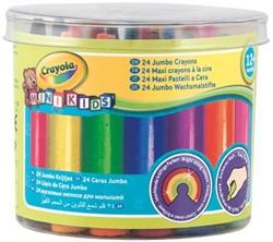 Waskrijt Crayola minikids dik 24 stuks assorti