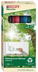 Viltstift edding 29 whiteboard Eco schuin ass 1-5mm à 4st
