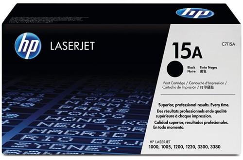 Tonercartridge HP C7115A 15A zwart