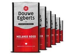 Koffie Douwe Egberts snelfiltermaling Roodmerk 500gr
