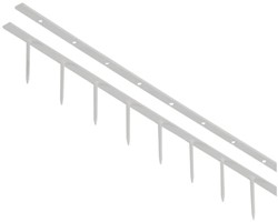 Surebindstrip GBC 25mm 10-pins grijs