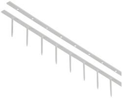Surebindstrip GBC 25mm 10-pins wit