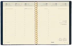 Agendavulling 2018 Timing spiraal 7 dag/2 pagina 6talig