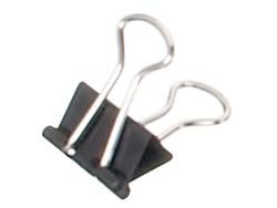 Papierklem Maul 215 Foldback 13mm capaciteit 4mm zwart