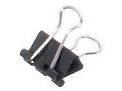 Papierklem Maul 215 Foldback 16mm capaciteit 5mm zwart