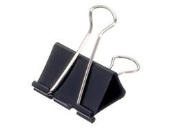 Papierklem Maul 215 Foldback 41mm capaciteit 19mm zwart